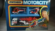 Matchbox MC-12 Motorcity Gift Set - Rescue Team Set - 1987