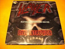 Cardsleeve Single cd Slayer Live Intrusion (PROMO) 3TR 1995 metal