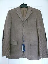 NWT $795 POLO RALPH LAUREN CUSTOM FIT ELBOW PATCH BLAZER SZ 38R, MADE IN ITALY