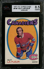 1971-72~O-PEE-CHEE~#148~GUY LAFLEUR~ROOKIE CARD~CANADIENS~KSA 8.5 NM-MT+
