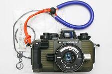 Green Nikon Nikonos V underwater film camera & 35mm lens. Serviced April 2017