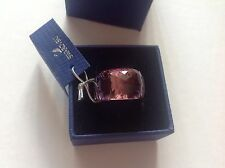 NEW AUTHENTIC Swarovski Crystal Nirvana Amethyst Petite Ring 1103235 Size: 58 L