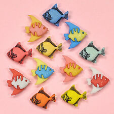Buttons Galore Tropical Fish 4242  -  Fishing Embellishments Dress it Up