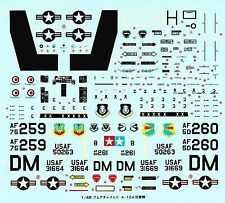TAMIYA 1406031 Decal  pour 61023 1/48 Fairchild Republic A-10A