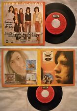 45 ROLLING STONES - LOOK WHAT YOU'VE DONE - ANNO 1971 - Gatefold Stampa Germania