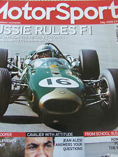 MOTOR SPORT MAGAZINE MAY 2006 AUSSIE RULES F1 PARTY POOPER JEAN ALESI TOM SNEVA