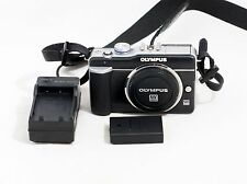Olympus PEN E-PL1 12.3 MP Digital Camera Body And Items Shown