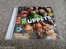 Walt Disney The Muppets Movie Soundtrack 31 Trk 2011 OST CD RARE NEW! Olly Murs