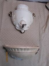 Vintage Hanging Lavabo Wall Fountain Wash Basin Planter