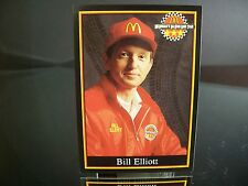 Bill Elliott Maxx Race Cards McDonald's 1991 Card #4 of 30 NASCAR