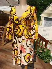 NWT BETSEY JOHNSON MOD PAISLEY FLUTTER SLEEVE TUNIC DRESS~4  **SALE**