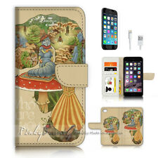 iPhone 7 (4.7') Flip Wallet Case Cover P3455 Cartoon