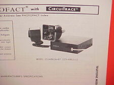 1977 TRUETONE CB RADIO SERVICE SHOP MANUAL MODEL CYJ4862A-87 (23-4862-1)