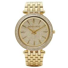 Michael Kors MK3438 Darci Pave Gold Tone Women's Wrist Watch FreeShipp