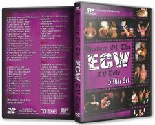 History of the ECW TV Title 5 DVD-R Set, Extreme Championship Wrestling WWE