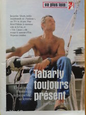 ERIC TABARLY Coupure de presse 3 pages 1999 – French Clippings