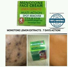 2 XMENOTONE LEMON EXCTACT FACE CREAM SPOT REMOVER FAST ACTION.ORIGINAL TDJBEAUTY