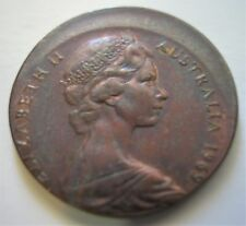 1969 Misstruck 2 Cent coin, Great Year, nice condition.