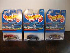 Hot Wheels--Lot Of 3--Pontiac Rageous #002--Jeepster #003--Th'Bolt #004---Lot #3