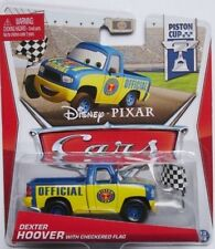 Disney Pixar Cars 2 Piston Cup Dexter Hoover Checkered Flag Diecast Xmas Gift
