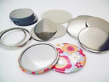"200 2-1/4"" STD MIRROR Parts (Pocket Mirrors) for Button Maker Machines FREE SHIP"