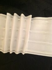 """6 Yards Sew On  Tape 4"""" Pencil Pleat Drapery Header High quality Sewing Curtains"""