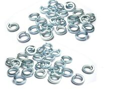 New spring washer 20mm, Pack of 100, zinc plated, nut bolts, fixing, uk seller