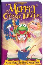 Muppet Classic Theater VHS - Wacky Muppet Versions of Fairy Tales! - New
