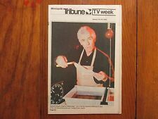 Jan-1982 Minneapolis Tribune TV Mag(JAMES COBURN/DARKROOM/ED BRUCE/BRET MAVERICK