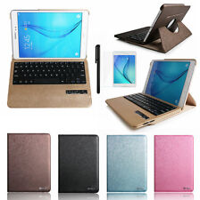 "360° Bluetooth Keyboard Leather Case Cover For Samsung Galaxy Tab E 9.6"" T560"