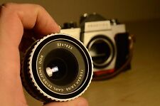 Carl Zeiss Jena Tessar 50mm f/2.8 lens, M42 tread mount+ bonus Praktica body !!!