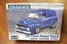 REVELL '55 FORD PANEL TRUCK 1/25 SCALE MODEL KIT