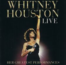 Whitney Houston Live-HER GREATEST performances CD neuf je veux Dance with someb