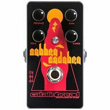 Catalinbread Sabbra Cadabra Distortion Rangemaster Booster Guitar Effects Pedal