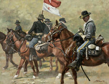 """Cav"" Don Stivers Limited Edition Giclee Print - US Cavalry"