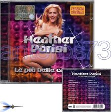 "HEATHER PARISI ""LE PIU' BELLE"" RARO CD ITALO DISCO - SIGILLATO"
