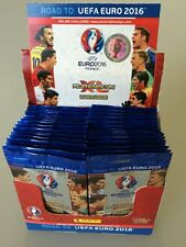 UEFA Road to Euro 2016 ADRENALYN XL Card box By PANINI 50 packs (300 cards )