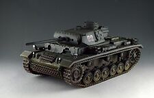 1/30 WW2 German Panzer III Ausf L with metal track and wheel Grey Version
