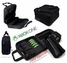 Xbox One Travel Case Carrying Bag Disc Pockets for Accessories Kinect Pouch