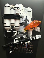 Hot Toys Star Wars Force Awakens 1st Order Flametrooper Rifle & Tank 1/6th scale