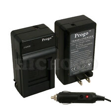 Battery Charger & Car Kit For Panasonic DMW-BCH7 BCH7E BCH7PP DMC-FP3 FT10 TS10