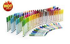 128 pcs Color Markers Watercolor Pens Set Card Art Paint Draw Coloring Book Fine