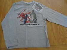 BNWT boys long sleeve t-shirt top with Spiderman.  10 years.  1/1