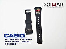 VINTAGE CASIO ORIGINAL STRAP/BAND/CORREA W-721 NOS