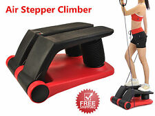 New Air Stepper Climber Exercise Fitness Thigh Machine W/DVD Resistant Cord - US