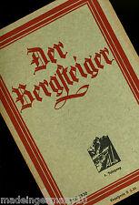 """in:""""Der Bergsteiger """" Fachheft 1930 GROHMANNSPITZE Ragwurz Langer Kauba Reklam"""