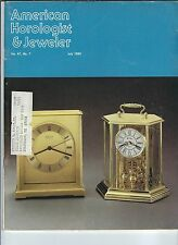 MF-066 - American Horologist & Jeweler Magazine July 1980 Mainspring Winder