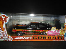 "1:18 - Greenlight 1978 Ford Mustang Cobra II BLACK ""Free Wheelin"" Movie"