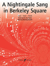 A Nightingale Sang In Berkeley Square Ray Noble Piano Guitar FABER Music BOOK