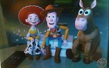 Toy Story 2 Disney 2000 Lithograph Collection Woody Jessie Bullseye  w/ Envelope